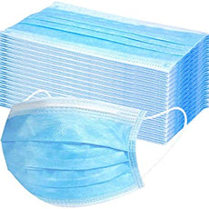 Lab Pro 3ply Earloop Disposable Mask (Non-Surgical) (Box of 50) - 50% OFF