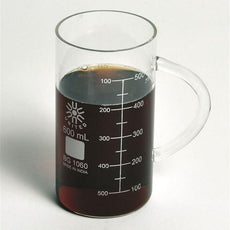 Beaker Mug, Tall Form, Glass, 600ml - BGMG600-T