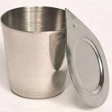 Crucibles, Nickel, With Lid, 25ml - NCR025