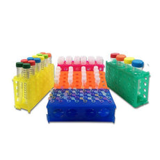 Rack- 4 way (4x50- 12x15- 32x1.5/0.5ml)- Rainbow Pack- 5/pk-R1030