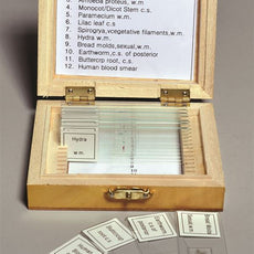 Biology Prepared Slide Set, 12 Slides - SLD200-SET/12