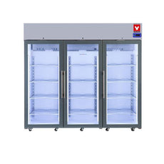 Yamato SLR2001TG Laboratory Refrigerator 2°C To 8°C, 72 Cu.Ft., Three Glass Doors, Cycle Defrost, 115v