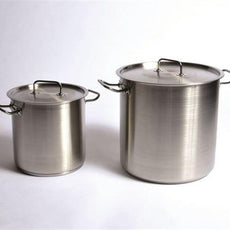 Stock Pot, Stainless, 26 L - STKPT26