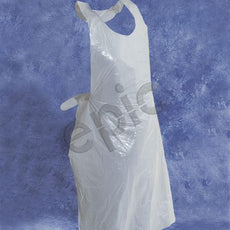 Tians Apron, White PE, 28 X 46, 100 Per Disp.  Bag, 1000/Cs - 71286-2846