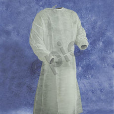 Tians Isolation Gown, Polypro, EW, White, MED, 50/Cs - 813881-M