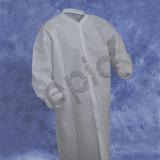 Tians Lab Coat, SMS, KW, KC, No Pockets, White, LRG, 30/Cs - 864895NP-L