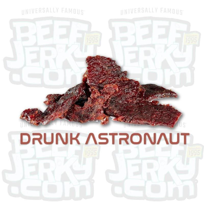 Drunk Astronaut, Whiskey BBQ, Gourmet Beef Jerky [ 8oz Bag ]