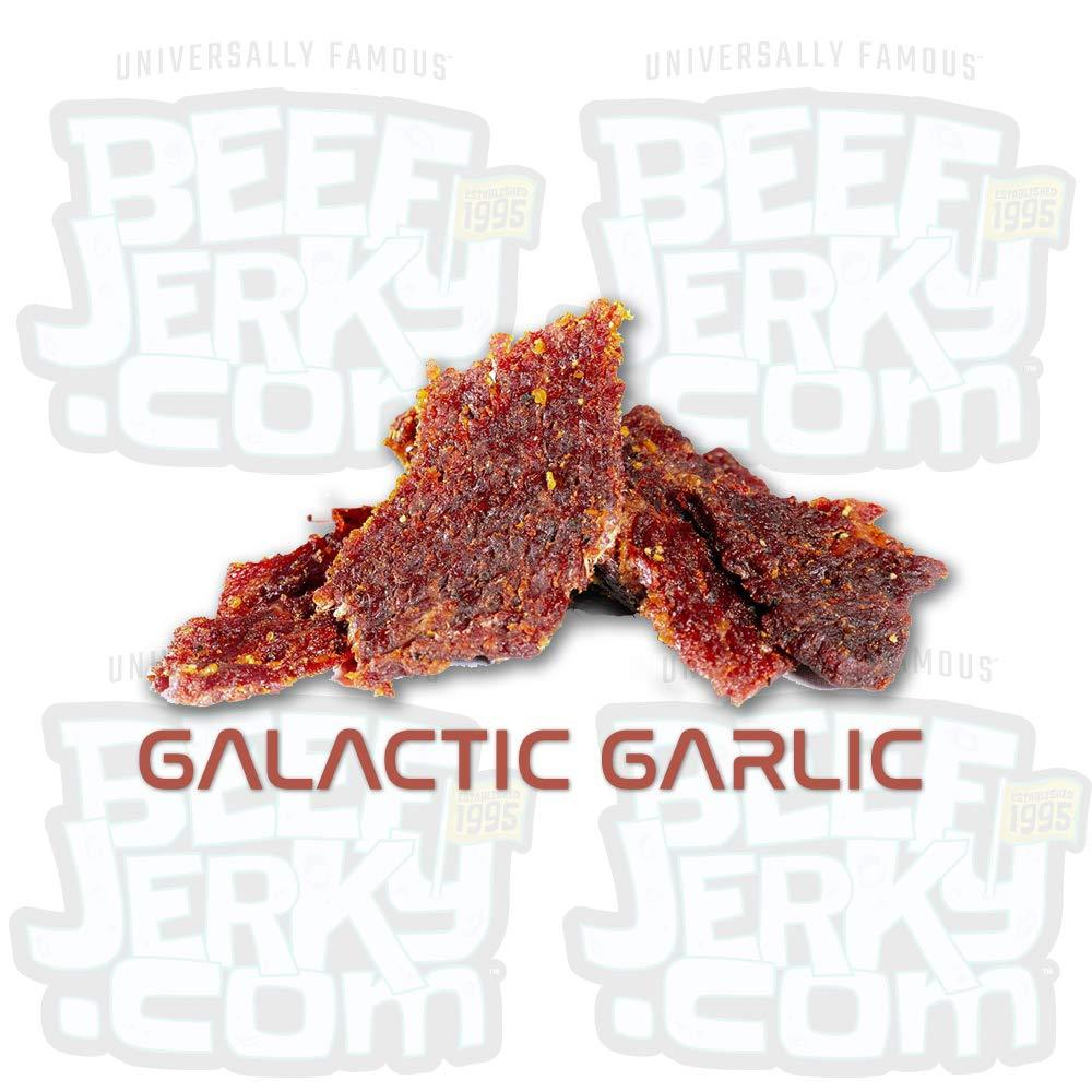 Galactic Garlic Gourmet Garlic Beef Jerky [ 8oz Bag ]