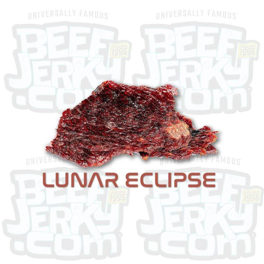 Lunar Eclipse, Sweet & Spicy, Gourmet Beef Jerky [ 8oz Bag ]