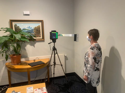 Thermal camera at George Manning Aged Care Facility