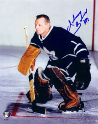 Johnny Bower (deceased) Autographed Toronto Maple Leafs 16X20 Photo
