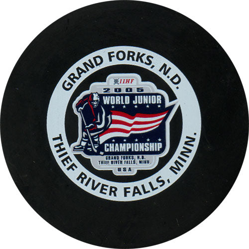 2005 World Juniors Souvenir Puck