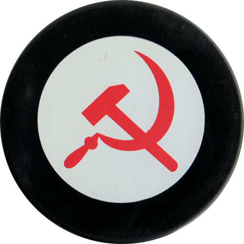 CCCP Hammer & Sickle Puck