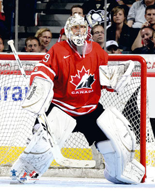 Marc-Andre Fleury Team Canada 2010 Olympics Unsigned 8X10 Photo