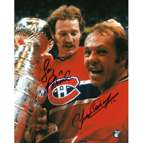 Larry Robinson/Yvan Cournoyer Autographed 8X10 Combo Photo