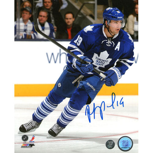 Joffrey Lupul Autographed Toronto Maple Leafs 16X20 Photo