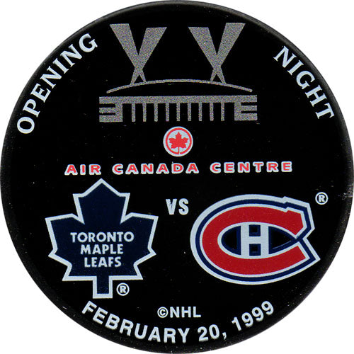 1st Game at Air Canada Centre Commemorative Puck