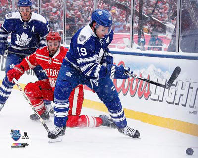 2014 Winter Classic Unsigned 8X10 Photo - Joffrey Lupul