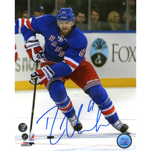 Rick Nash Autographed New York Rangers 16X20 Photo