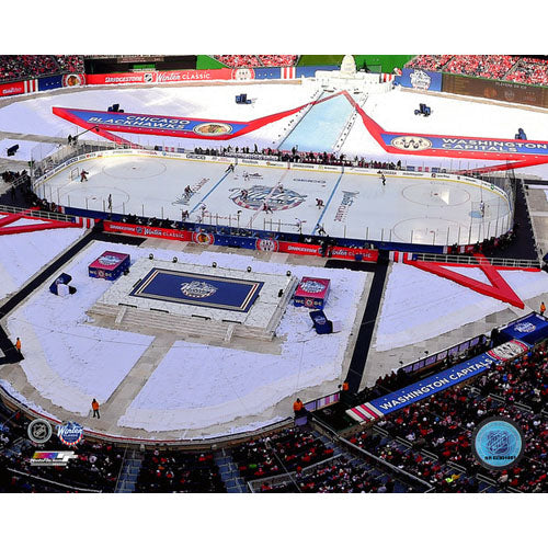 2015 Winter Classic Unsigned 8X10 Photo - Nationals Park