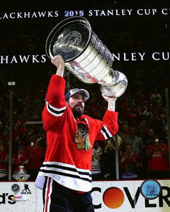 2015 Stanley Cup - Patrick Sharp Unsigned 8X10 Photo