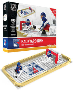 NHL OYO Backyard Rink - New York Rangers