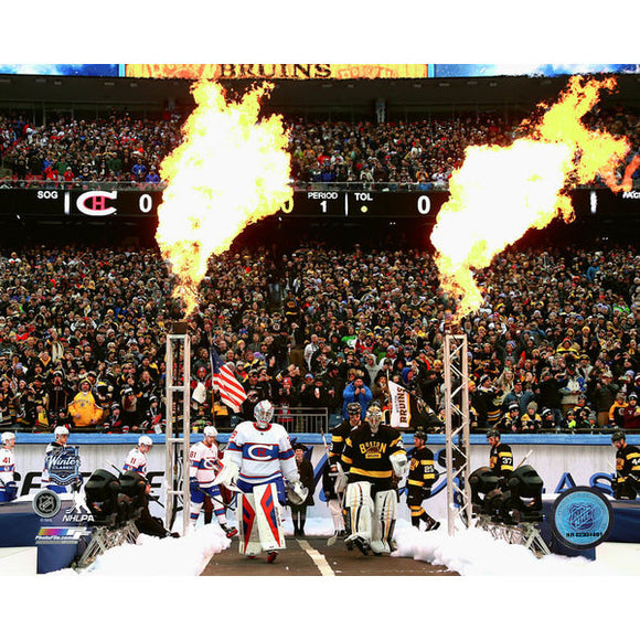 2016 Winter Classic Unsigned 8X10 Photo - Teams Entering