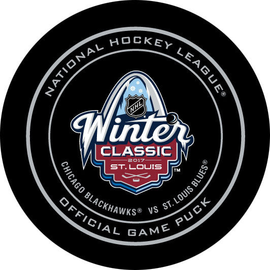 2017 Winter Classic Official Game Puck