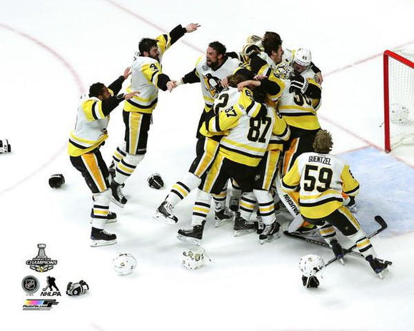 2017 Stanley Cup - Celebration on Ice Unsigned 8X10 Photo