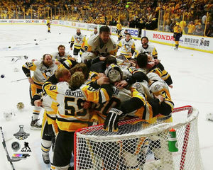 2017 Stanley Cup - Celebration on Ice 2 Unsigned 8X10 Photo