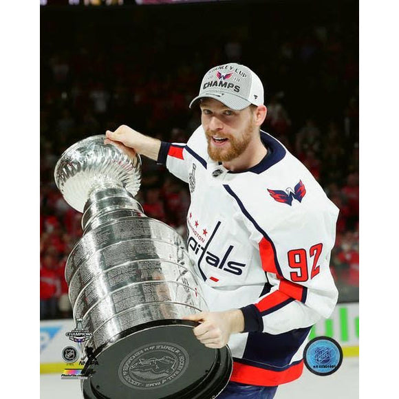 2018 Stanley Cup - Evgeny Kuznetsov w/Cup