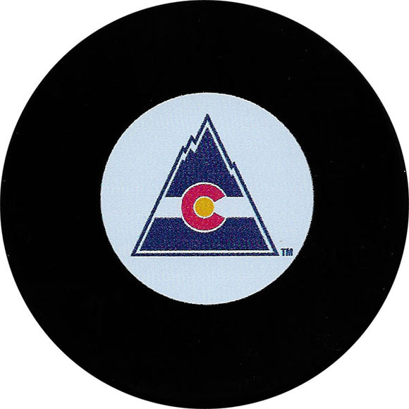 Colorado Rockies Old Logo Puck