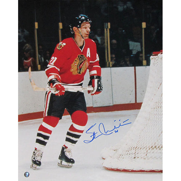 Stan Mikita (deceased) Autographed Chicago Blackhawks 16X20 Photo