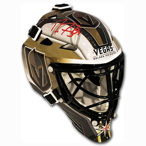 Marc-Andre Fleury Autographed Vegas Golden Knights Mini-Goalie Mask
