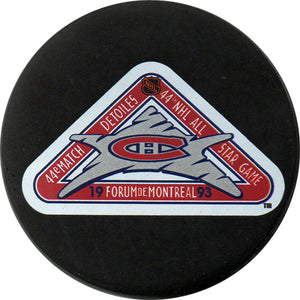1993 All-Star Game Puck - Montreal