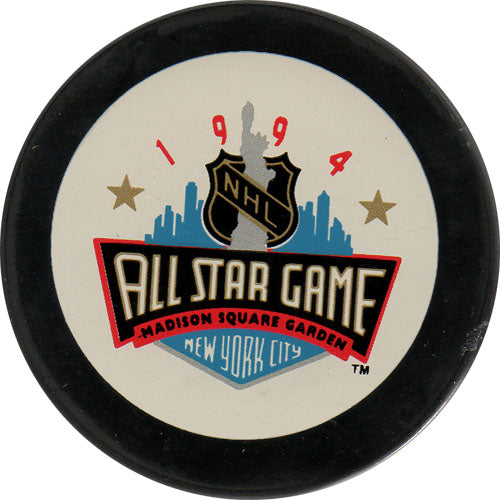 1994 All-Star Game Puck - New York
