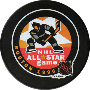 1996 All-Star Game Puck - Boston
