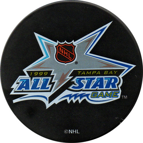 1999 All-Star Game Puck - Tampa Bay