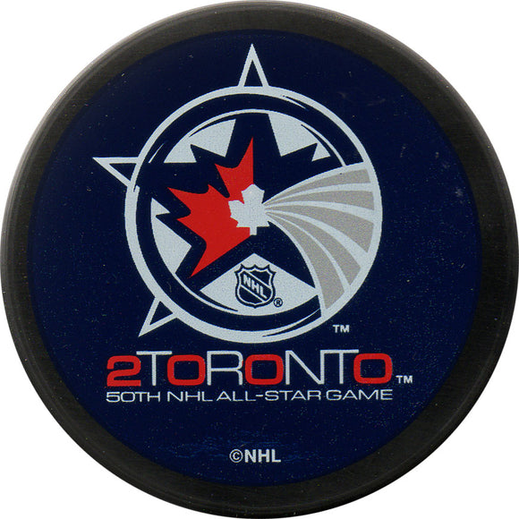 2000 All-Star Game Puck - Toronto
