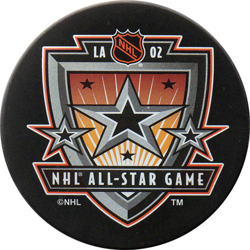 2002 All-Star Game Puck - Los Angeles