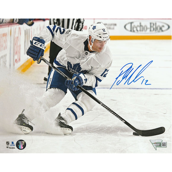 Patrick Marleau Autographed Toronto Maple Leafs 16X20 Photo