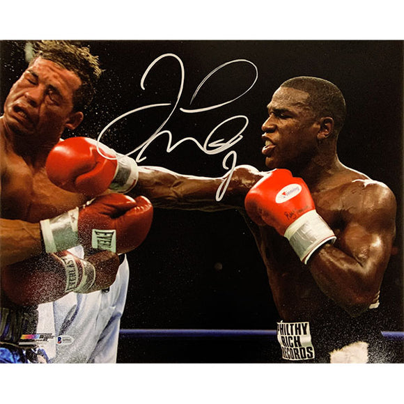 Floyd Mayweather Autographed 16X20 Photo