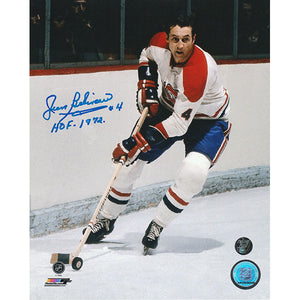 Jean Beliveau (deceased) Autographed Montreal Canadiens 8X10 Photo (Photo 2)