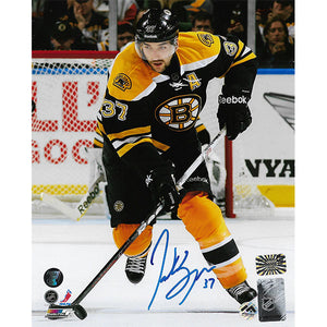 Patrice Bergeron Autographed Boston Bruins 8X10 Photo