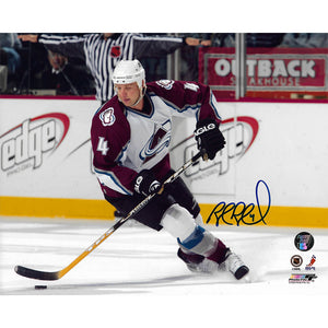 Rob Blake Autographed Colorado Avalanche 8X10 Photo