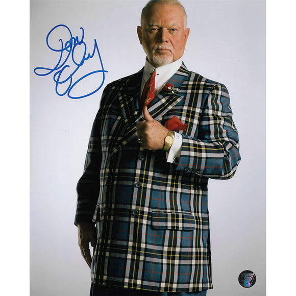 Don Cherry Autographed 8X10 Photo (Green Plaid)