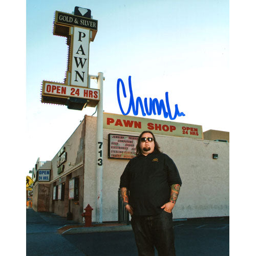 Chumlee Autographed Pawn Stars 8X10 Photo