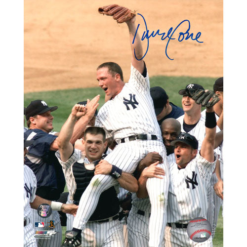 David Cone Autographed New York Yankees 8X10 Photo