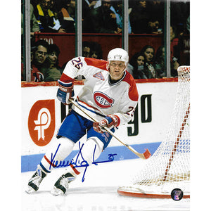 Vincent Damphousse Autographed Montreal Canadiens 8X10 Photo