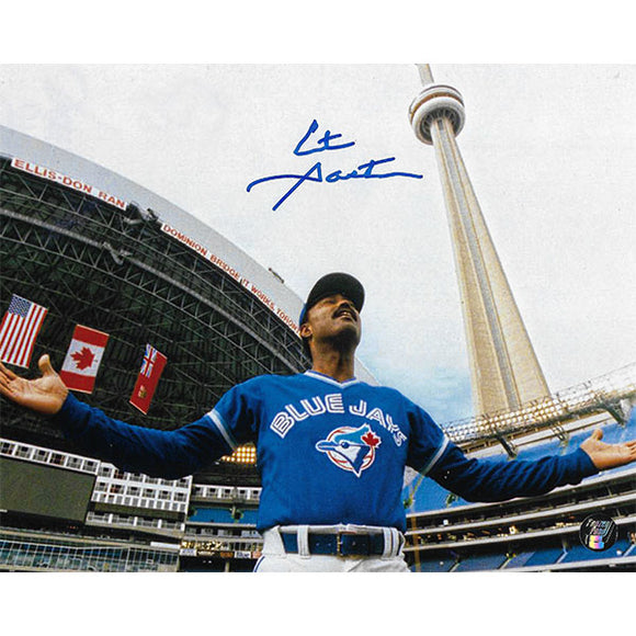 Cito Gaston Autographed Toronto Blue Jays 8X10 Photo